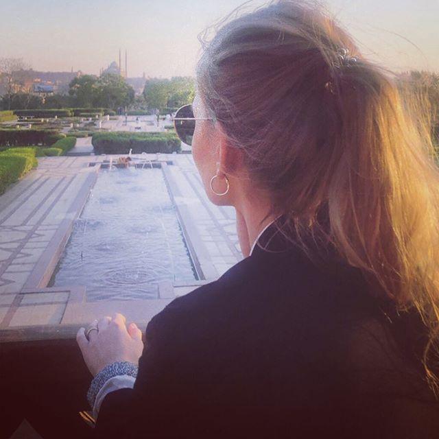 Im Al-Azhar Park in Kairo kann man die Seele baumeln lassen: spazieren im…