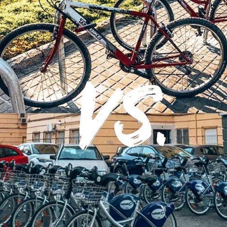 Fahrrad kaufen vs. Fahrrad mieten