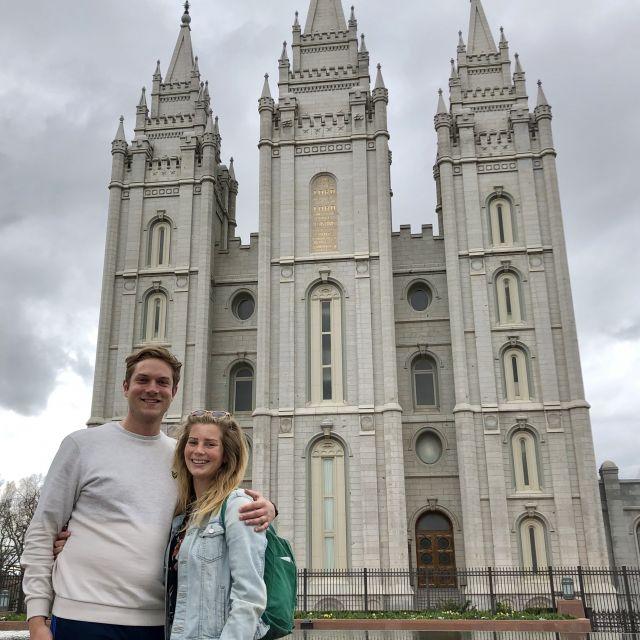 Salt-Lake-Tempel in Salt Lake City