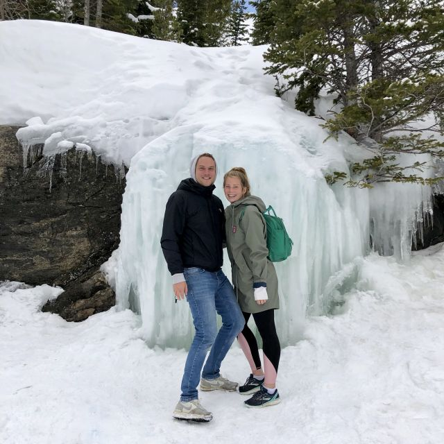 Winter in den Rocky Mountains