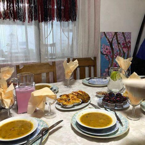 Ein traditionelles Fastenbrechen in Kapstadt braucht Suppe, Samosas und so…