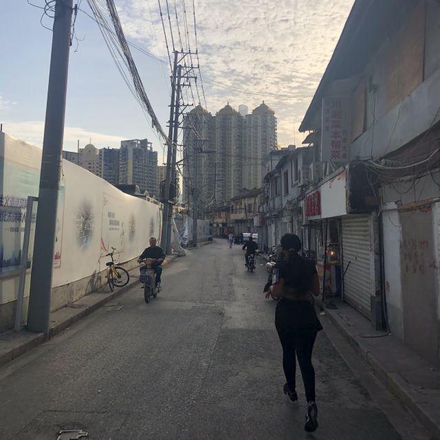 Seitenstraße in Shanghai