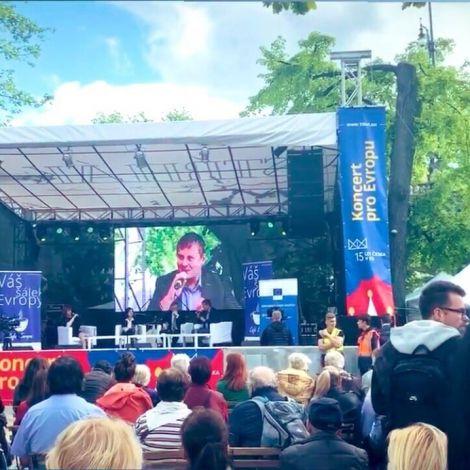 Koncert pro Evropu in #prag  …