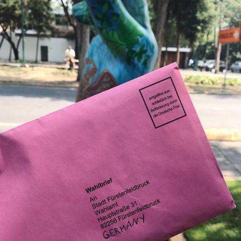 Geht wählen! Selbst aus #Mexiko kann man sein #Wahlrecht wahrnehmen und extrem…