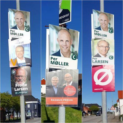 Plakatdschungel für die #Europawahl? Nein, dazu gibt's kaum Werbung. Vor einer…