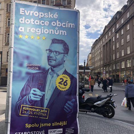 #Europawahl 26. Mai 2019 - Diesmal wähle ich! Eine Werbung in der Innenstadt…