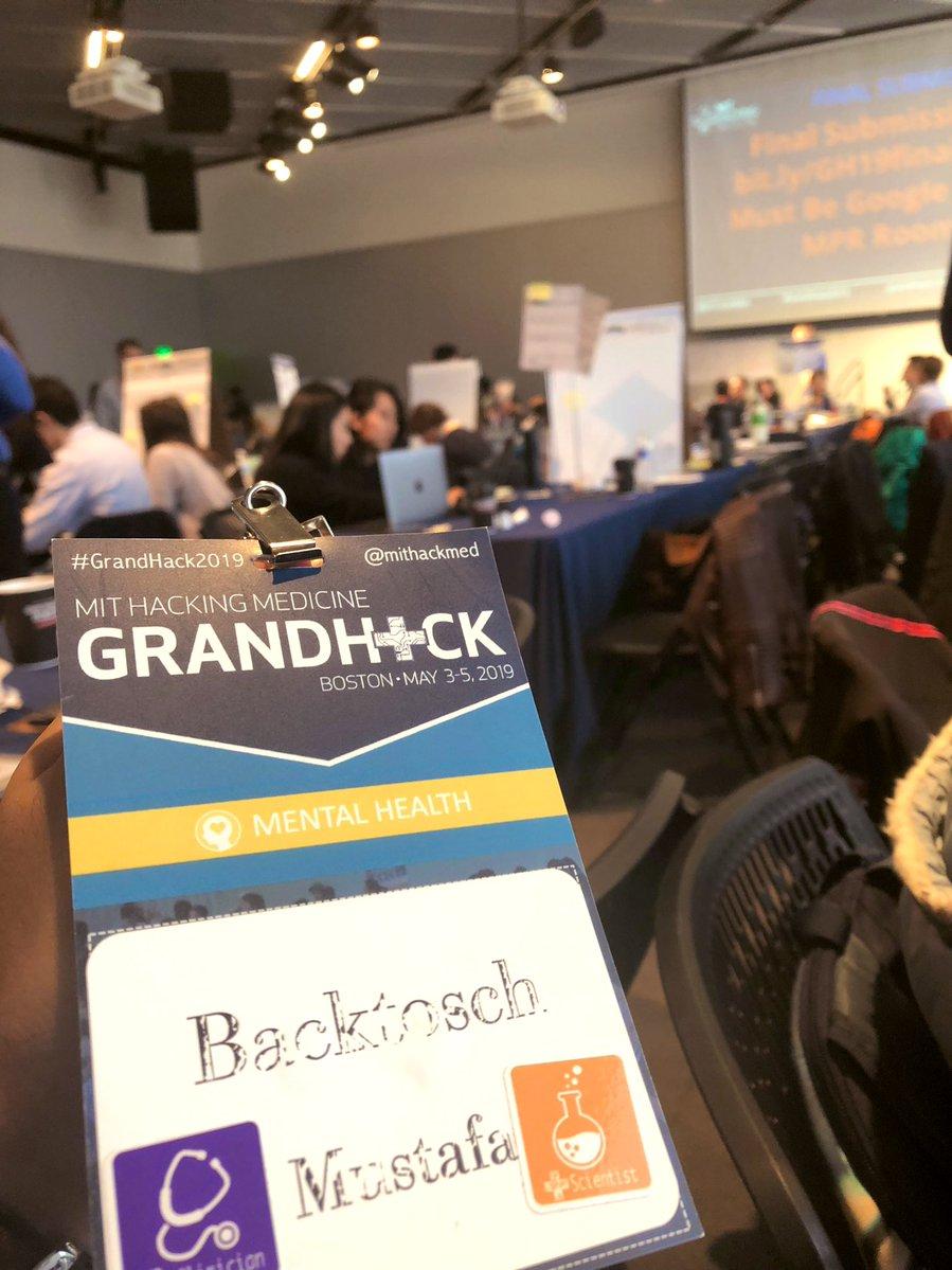 Mein vorerst letzter Hackathon. Einer der größten der Welt: MIT Hacking…