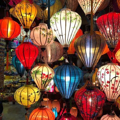 In der Stadt der tausend Lampions 🏮🎭…