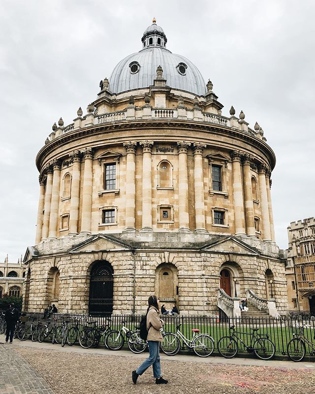 Oh Oxford, wie schön du bist, zu jeder Wetterlage, zu jeder Jahreszeit. ❤️…