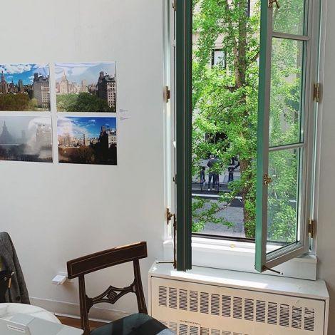 Inside Deutsches Haus at NYU.…