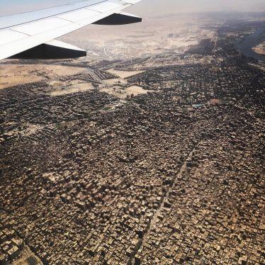 Landeanflug auf die 25- Millionen Metropole