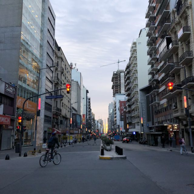 Buenos Aires Sonnenuntergang