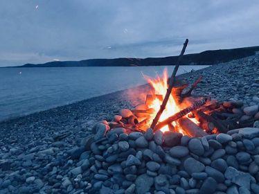 Lagerfeuer am Steinstrand🔥 und die schönste Nacht dieses Jahres mit…