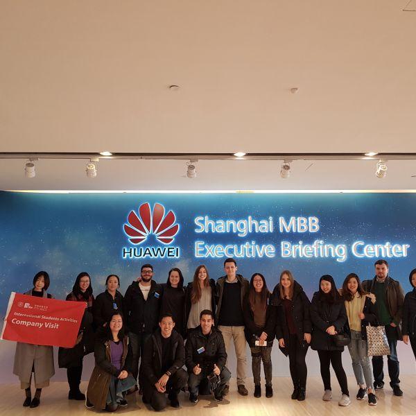 Gruppenfoto bei Huawei