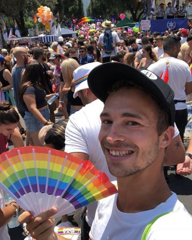Die Pride Parade in Tel Aviv demonstiert den weltoffenen und liberalen Charakter der Stadt.