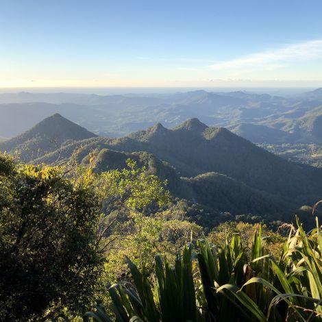 Ein Gebirge in Australien