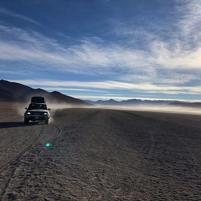 Drei Tage lang nichts anderes als Wüste, Lagunen, heiße Quellen und jede…