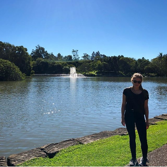 Touring my new campus 🦆🦋🐛🐔🦖🐟 Had a lucky start in Brisbane:…