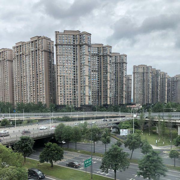 Gebäude Komplex in Chengdu