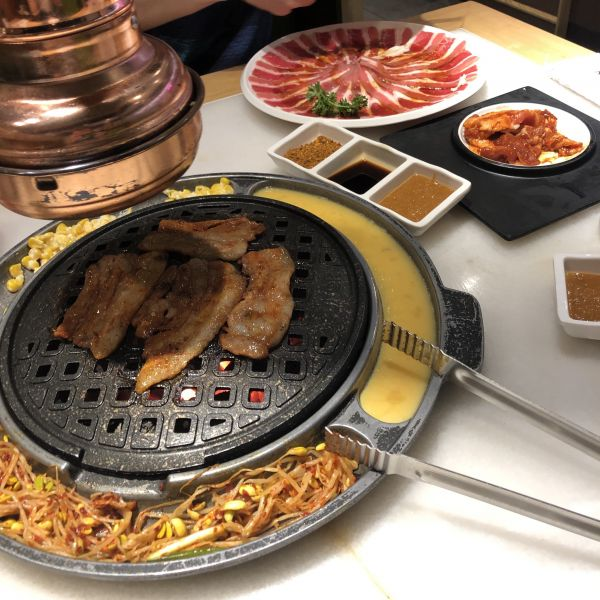 Korean BBQ in Shanghai