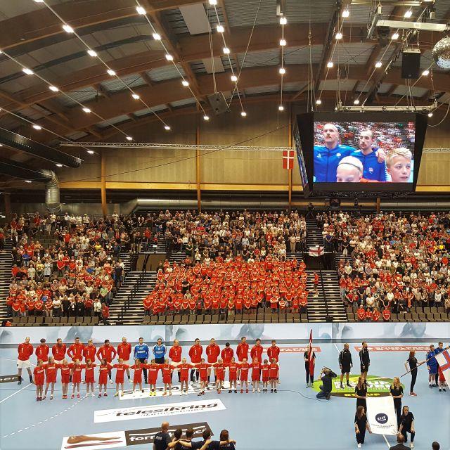 Spiel der dänischen Nationalmannschaft