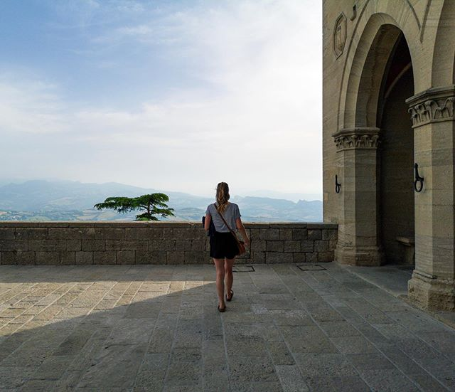 San Marino memories. #erlebees #trento #sanmarino #erasmustrento #erasmusitalia