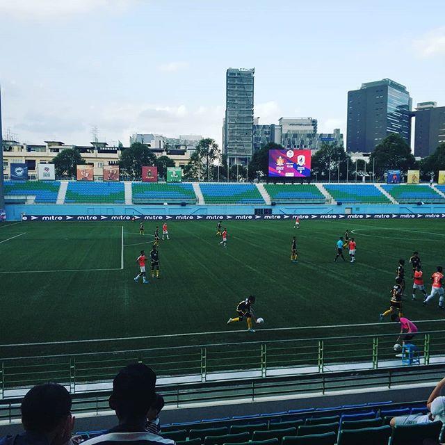 Soccer in Singapore. #spl #erlebees #singaporepremierleague #football