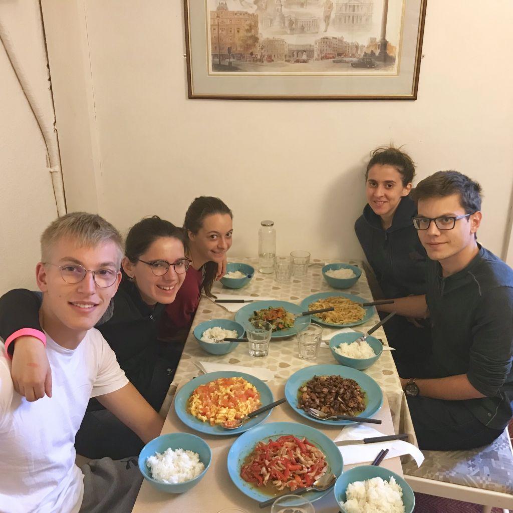 Erstes Hausessen, die authentischen Chinesische Speisen