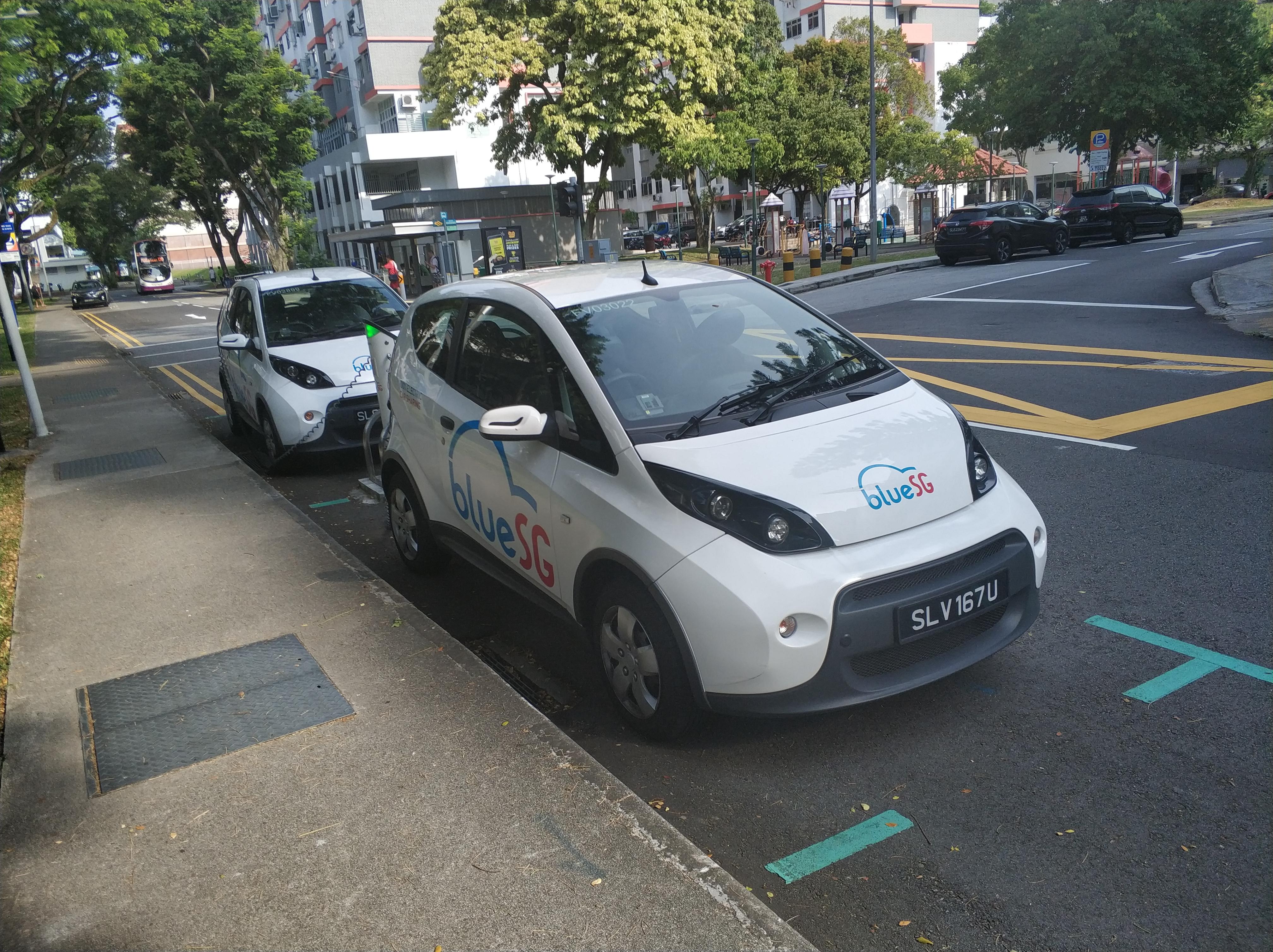 E-Mobilität in Singapur – besser als bei uns?