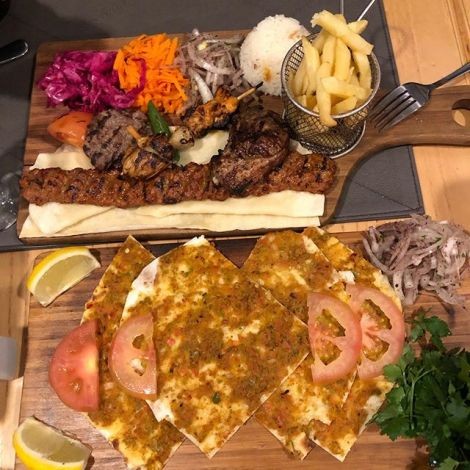 Türkisches Essen gibt's auch in Kapstadt, da Fühlt man sich auch gleich…