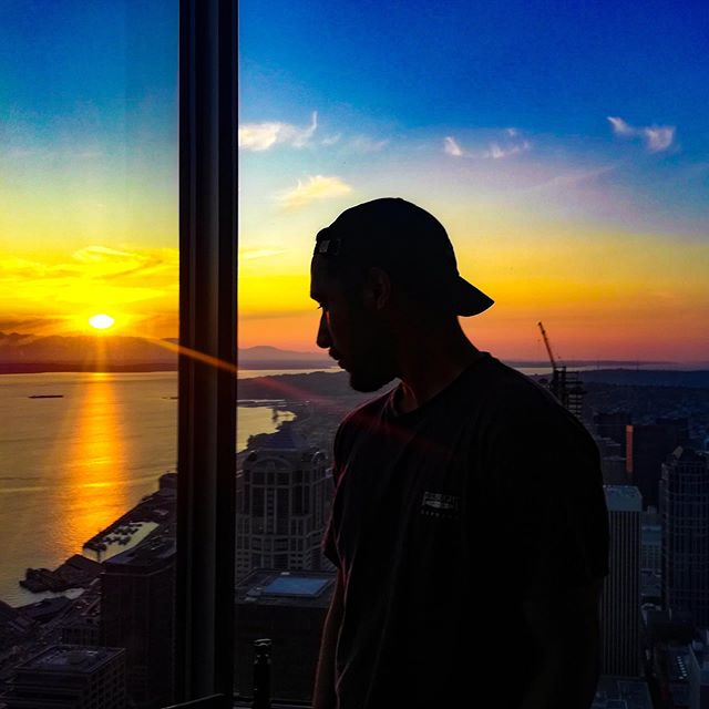 Sunset 🌇 in Seattle. .…