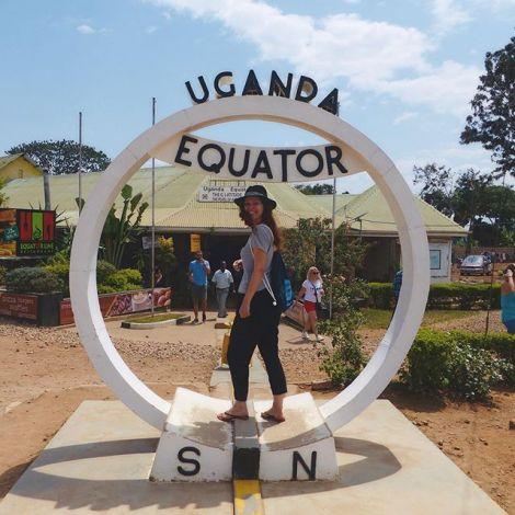 Gestern habe ich das erste Mal Kampala verlassen - es ging zum Äquator! Dank…