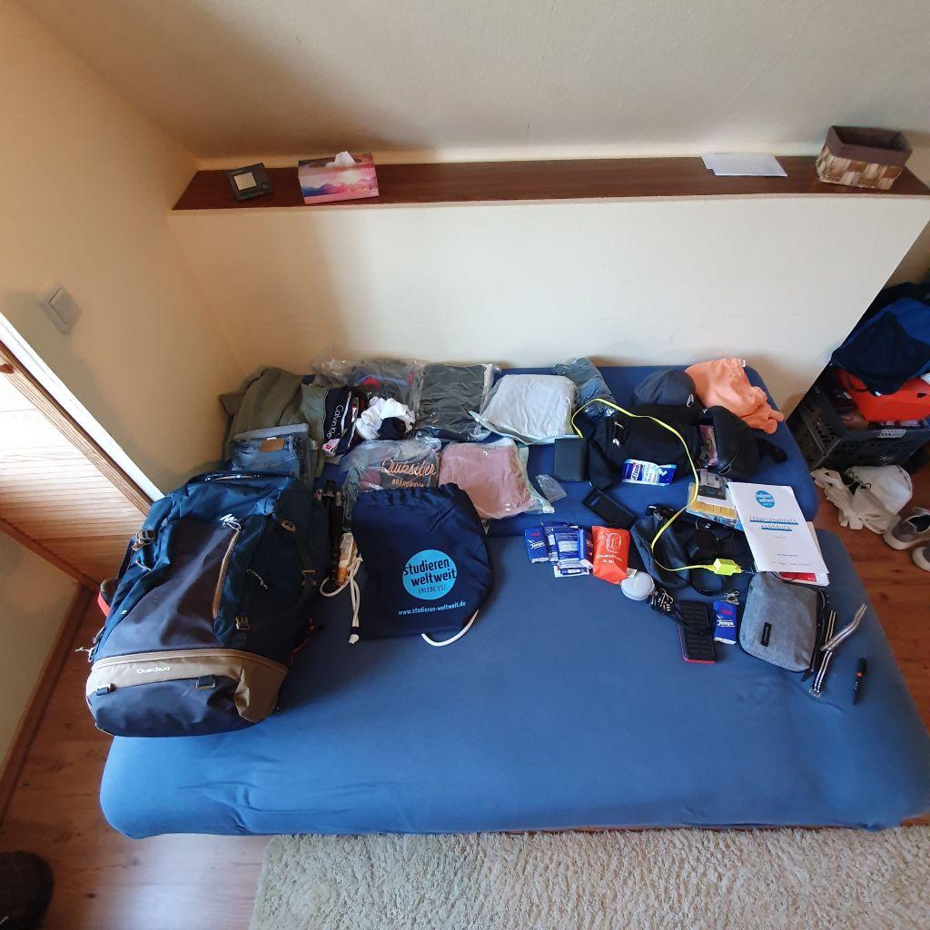 Passt mein ganzes Leben in einen 70-Liter-Rucksack?
