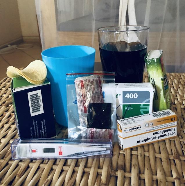 Hausmittel und Medikamente