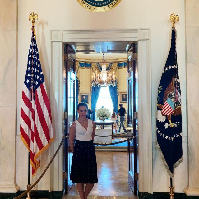 Im Wohnzimmer des amerikanischen Präsidenten