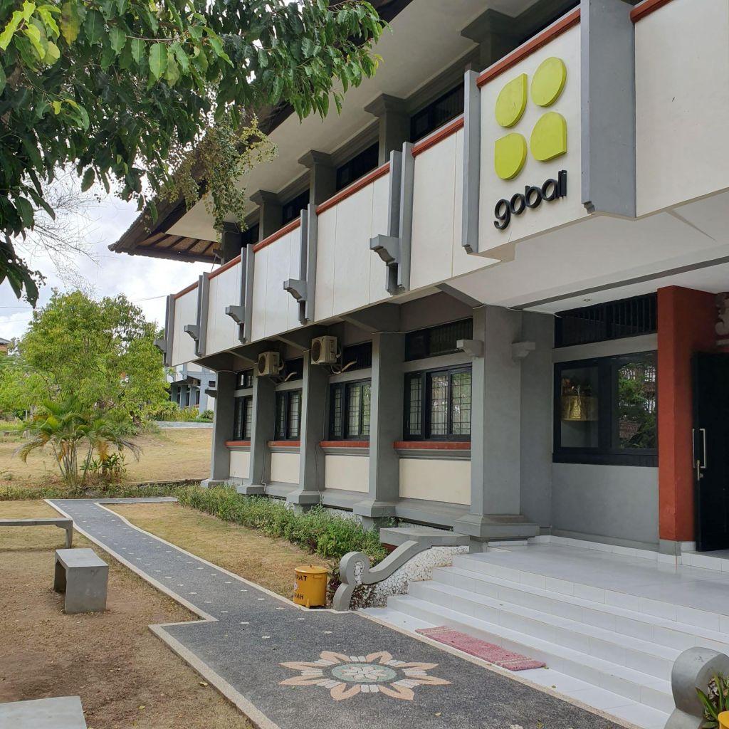 GoBali Gebäude auf dem Campus