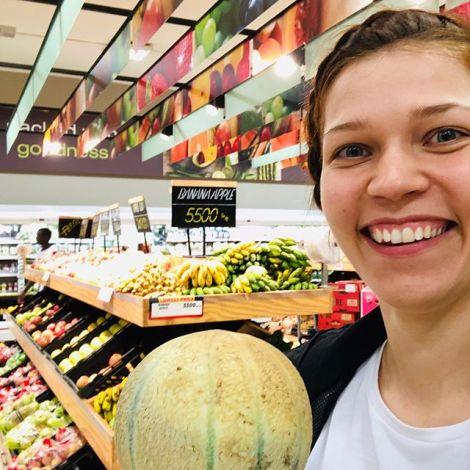 Heute nehme ich euch mit in einen größeren Supermarkt. Hier gibt es eine…