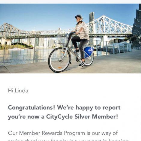 Die kleinen Erfolge im Leben 🎉😁 Der Beweis, dass das #Citycycle mein…