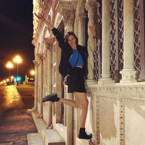 Summernights in Pisa 🥰 Ich hatte die Wahl zwischen Rom oder Pisa für mein…