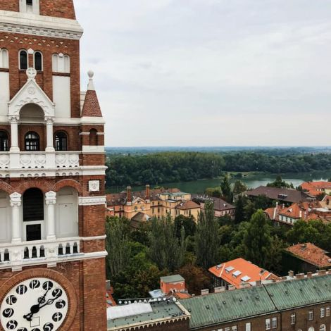 • Nice view over Szeged 🙌🏻•…