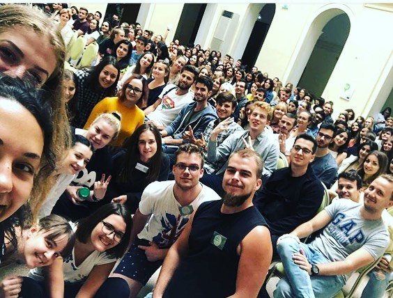 Gut angekommen - Let's start the Orientation Week @esn.szeged…