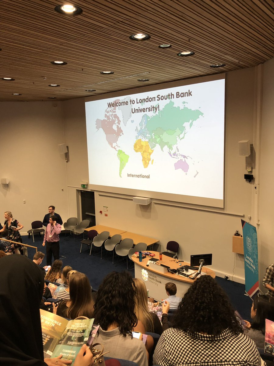 An der London South Bank University studieren Studenten aus über 130…