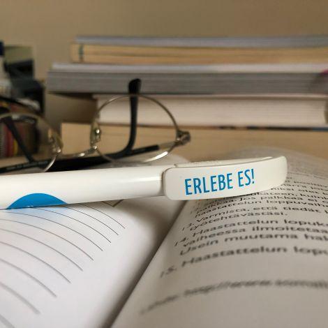 offenes Buch, Stift