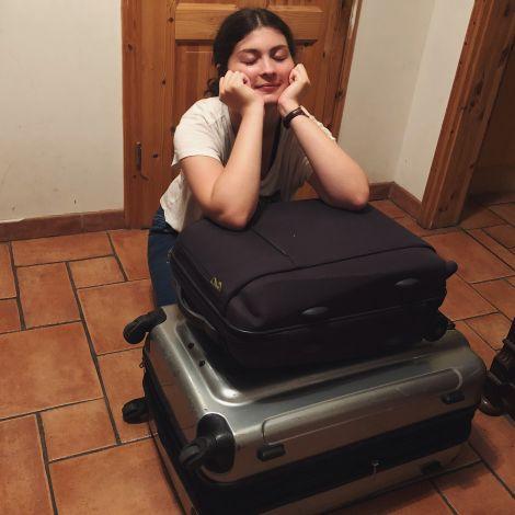 Kofferpacken und ich sind keine Freunde.