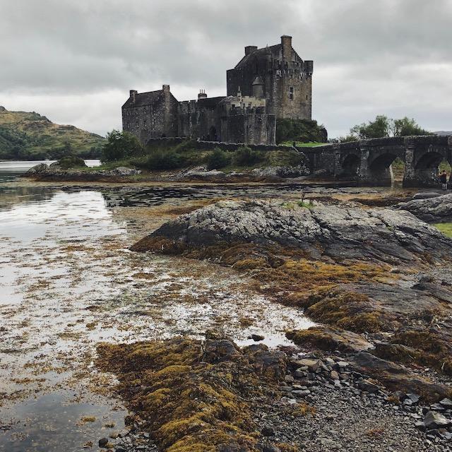 kurzer Zwischenstop am Eilean Donan Castle