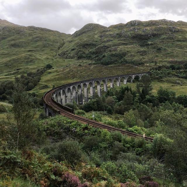 Das Glenfinnan Viadukt - Wo seid ihr, Harry Potter Fans?