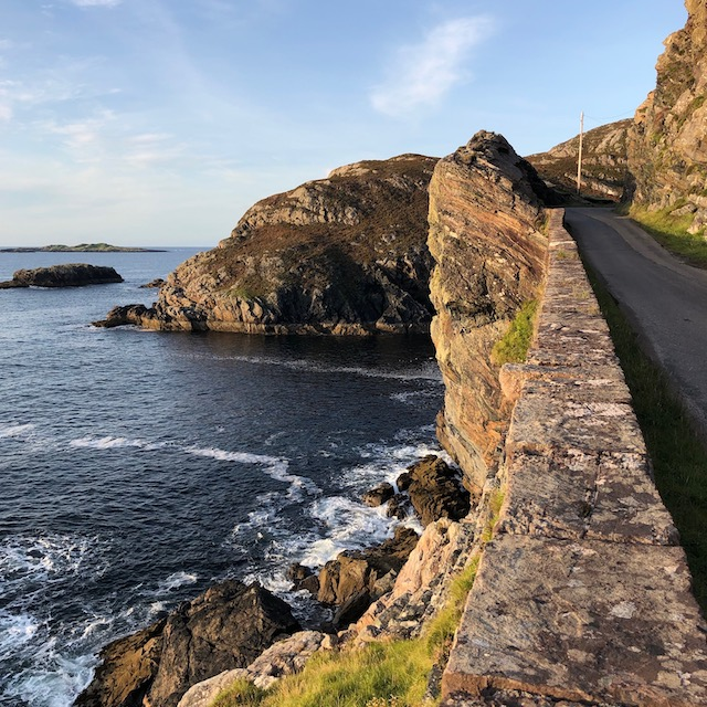 Always take the scenic route in Schottland!
