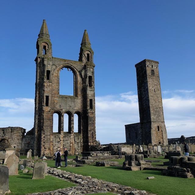die Kathedrale in St. Andrews