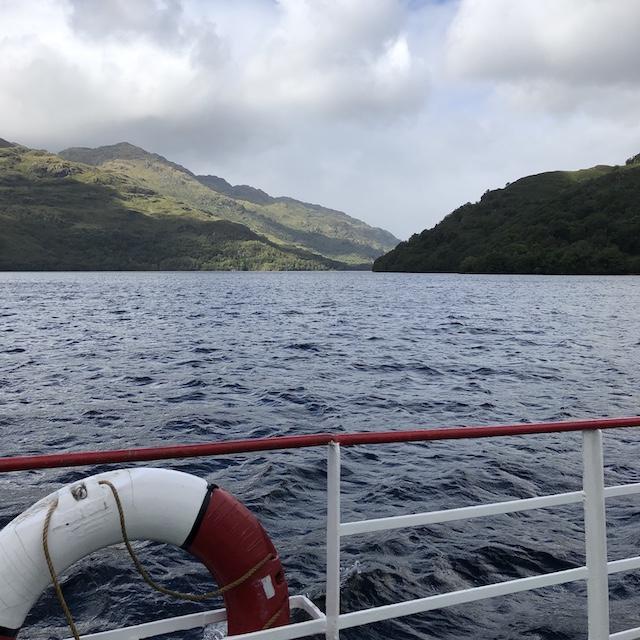 Bootstour auf dem Loch Lomond