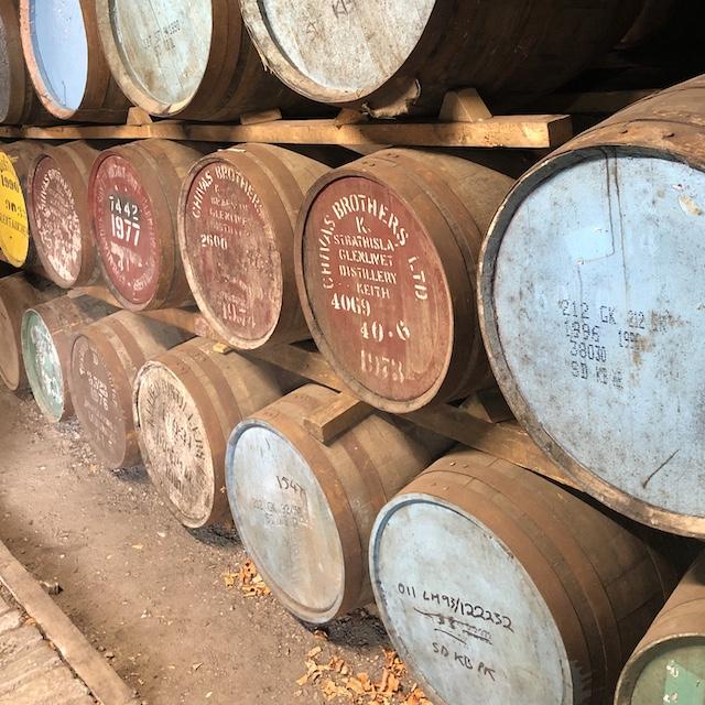 Whiskyverkostung in der Strathisla Distillerie